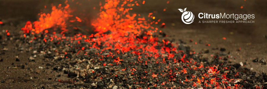 firewalking for charity - citrus mortgages - willen hospice